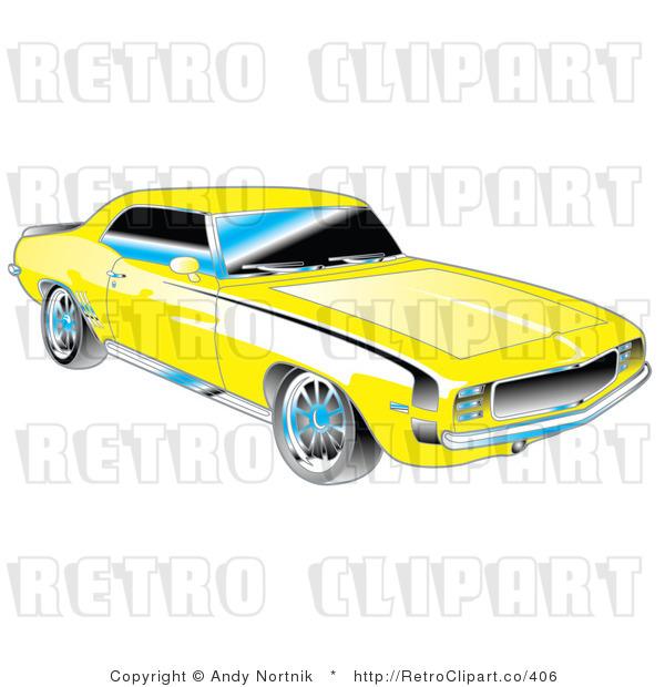 600x620 11 1969 Camaro Vector Images
