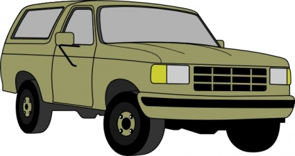 425x226 Free Download Of Chevrolet Blazer Clip Art Vector Graphic