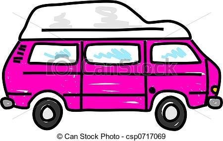 450x285 Camper Van Clipart