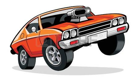 450x263 Muscle Car Clipart