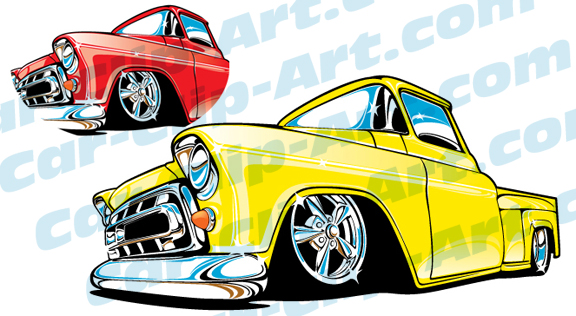 576x316 57 Chevy Clipart Image Group