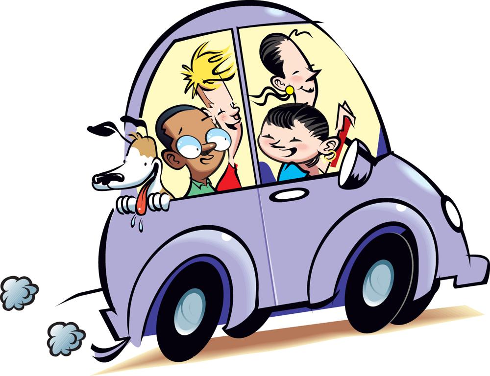 1000x768 Clipart Pick Up Car Carpool 36