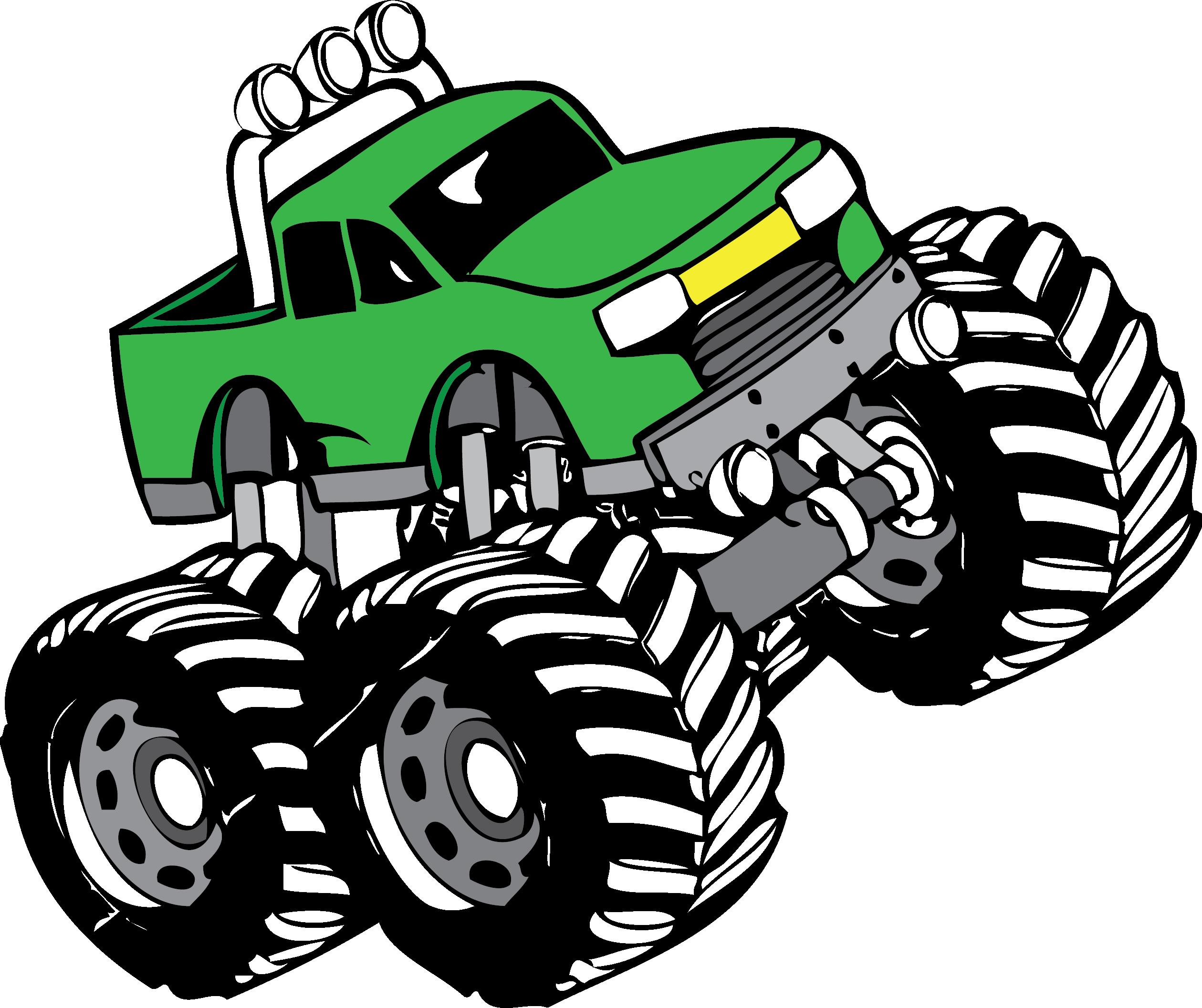 2519x2113 Monster Truck Clip Art