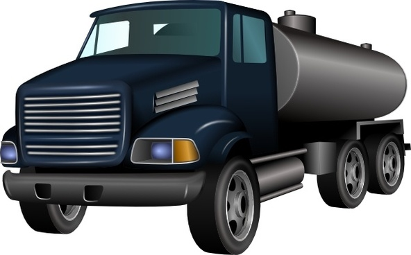 592x368 Truck And Trailer Vector Art Free Vector Download (215,530 Free