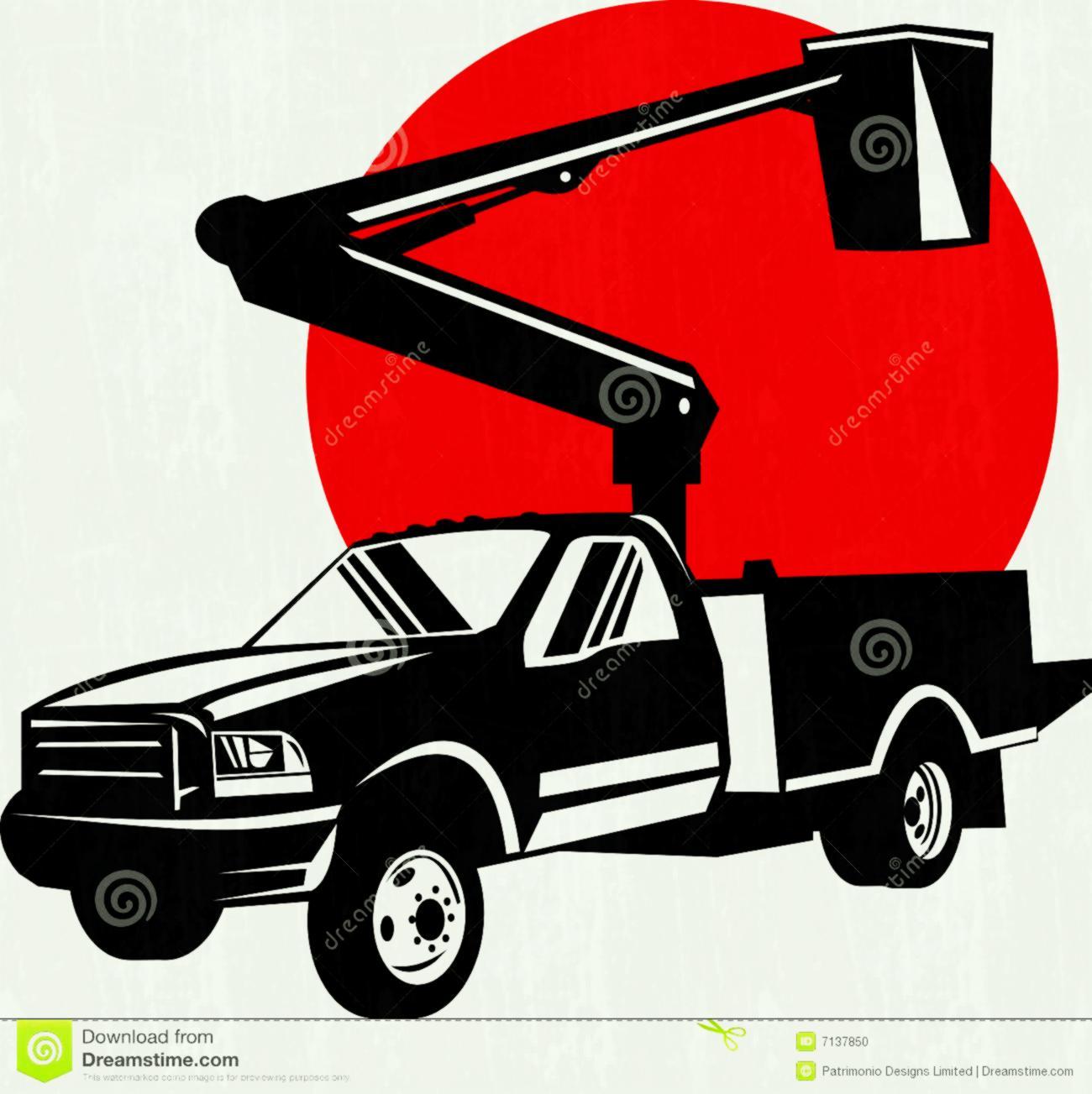 1300x1303 Bucket Truck Clipart Clip Art
