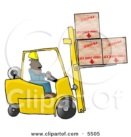 450x470 Man Driving A Chevy Pickup Truck In The Snow Clipart Picture By