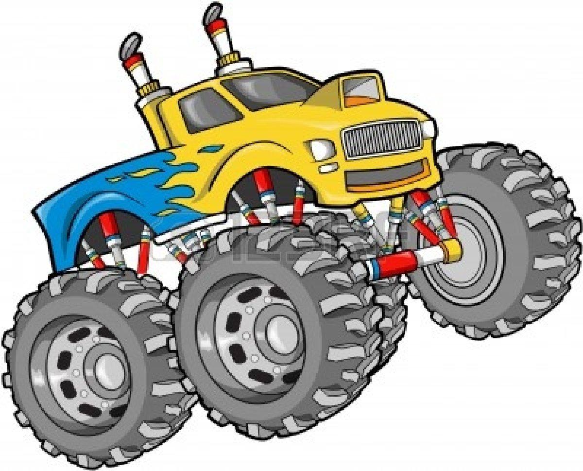 1200x969 Monster Truck Clipart