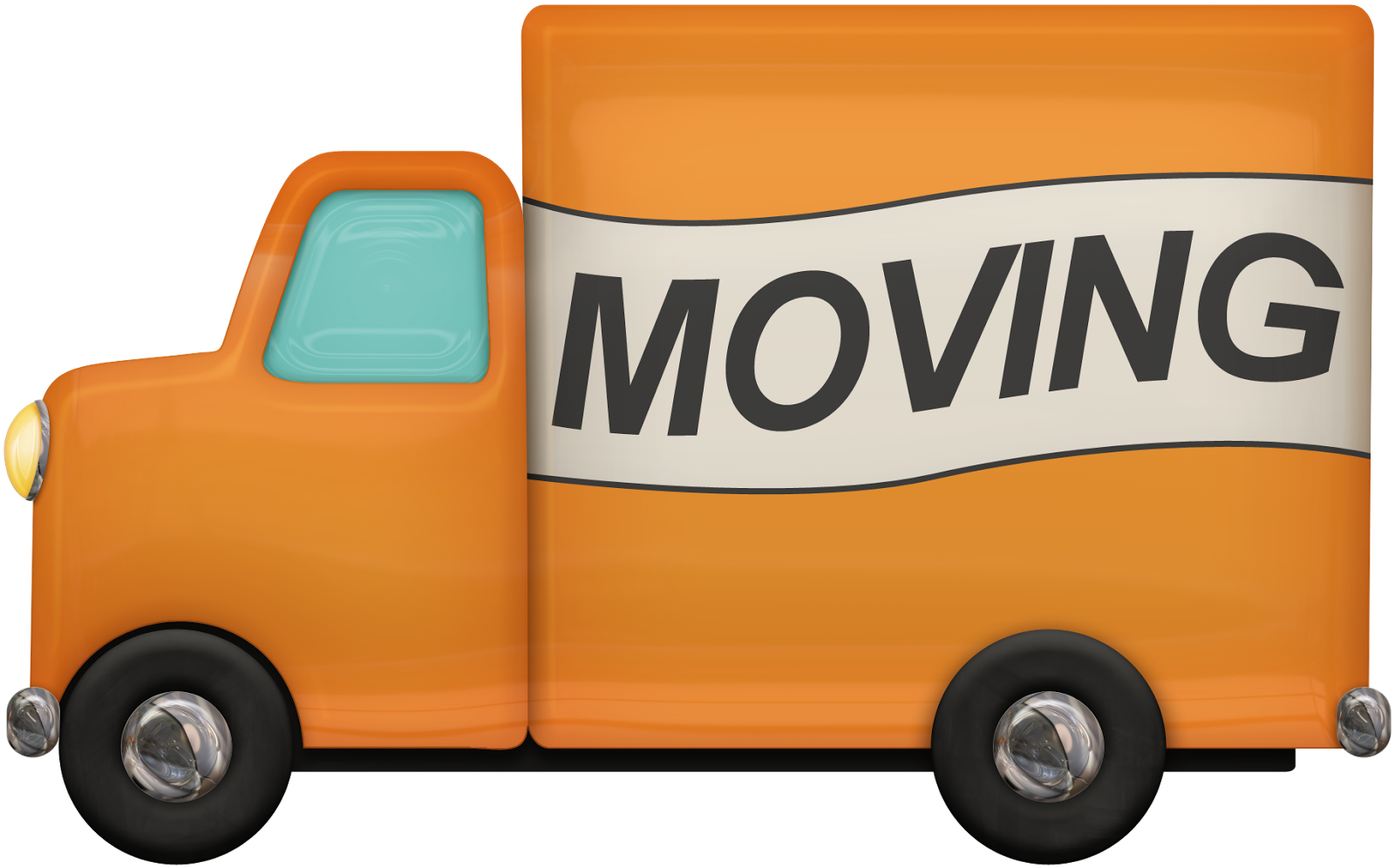1600x996 Moving Truck Clipart