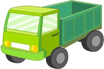340x226 Moving Truck Clipart Image