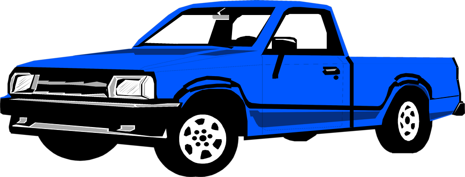 958x365 Pickup Truck Images Free Free Coloring Library