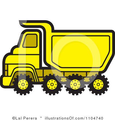 400x420 Truck Clipart Yellow Truck