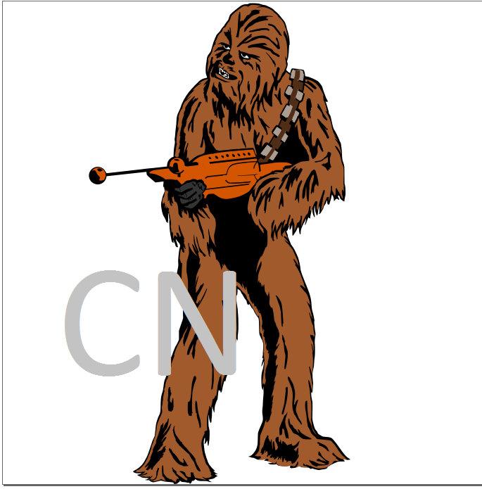 685x695 Chewy From Star Wars Svg Chewbacca From Handmadememoriesbycn