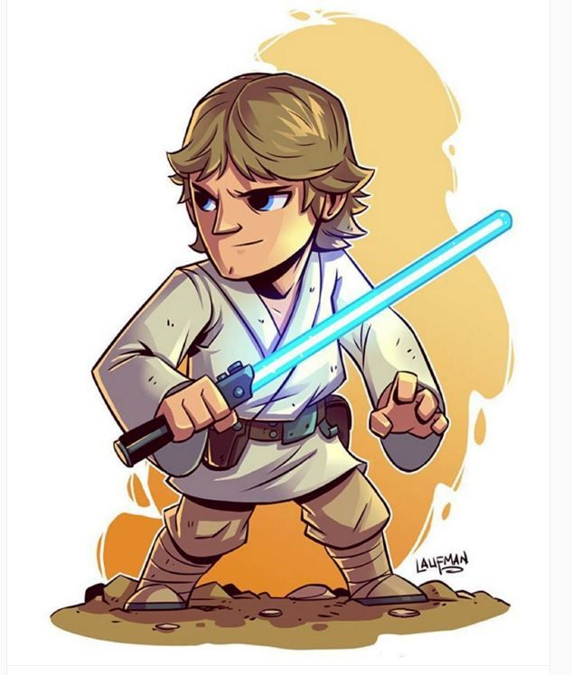 633x748 Luke Skywalker Clipart Star Wars Character