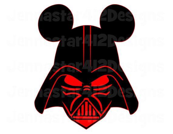 570x440 Star Wars Clipart Mickey Head
