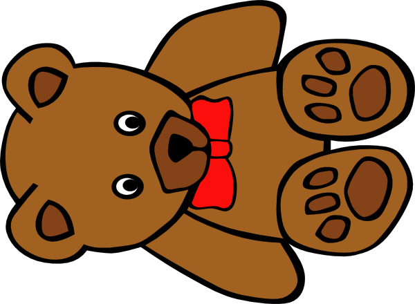 600x440 Clipart Of Teddy Bear