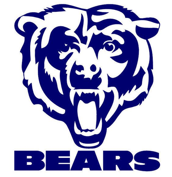 564x582 Chicago Bears Sparo Laser Discus Decal. Learn How To Draw Chicago