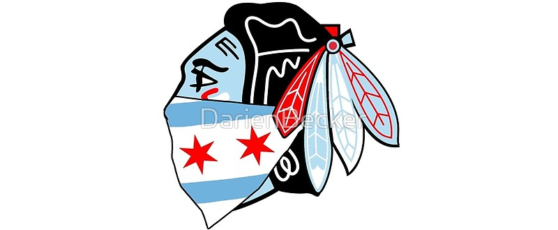800x331 Chicago Theme Chicago Blackhawks Logo With Bandana Mugs By