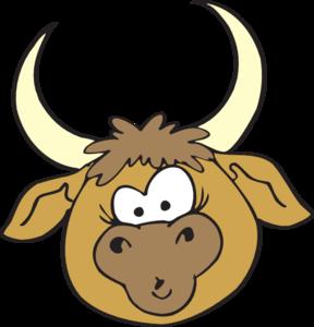 288x300 Bulls Clipart Line Art