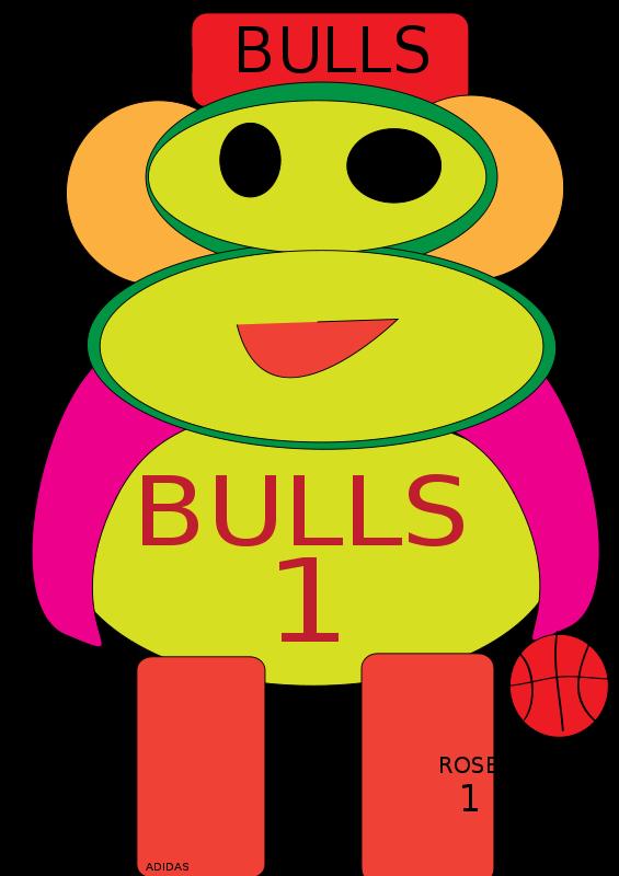 565x800 Free Clipart Chicago Bulls Monkey Jackho1108