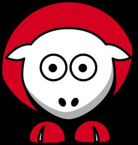 282x297 Sheep Chicago Bulls Team Colors Clip Art