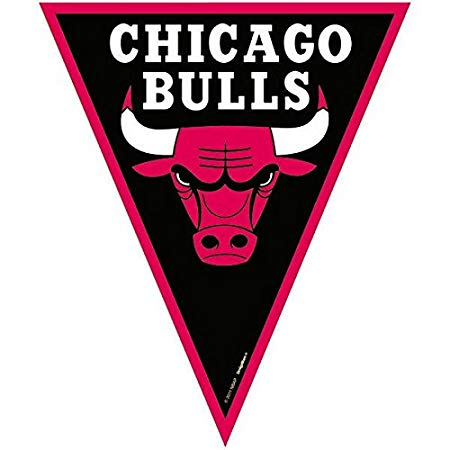 450x450 Amscan Amazing Chicago Bulls Nba Pennant Banner, 12