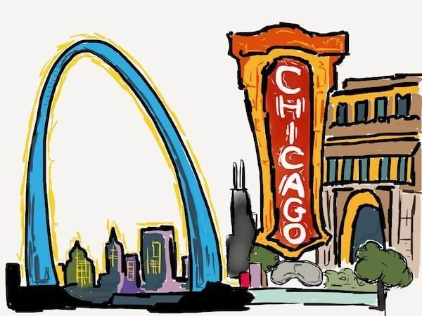 600x450 Blues Chicago Clipart