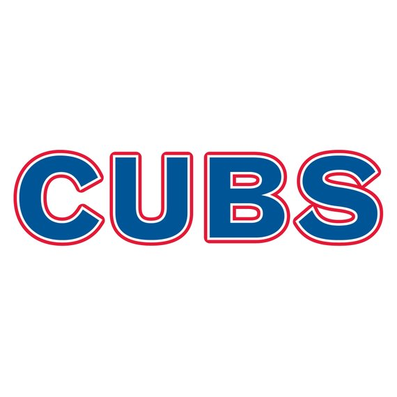 570x570 Chicago Cubs Baseball Logo Clip Art