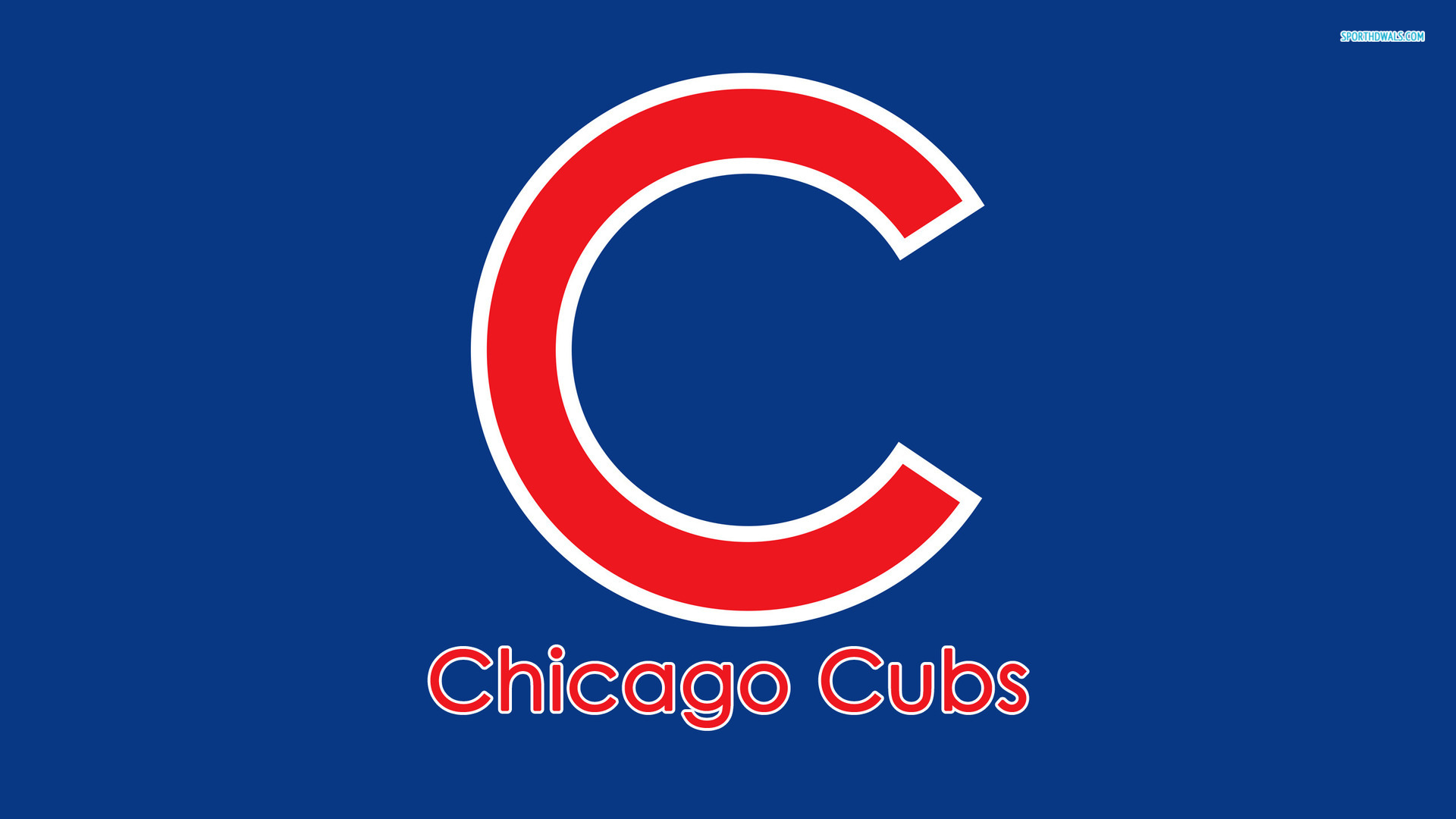 1920x1080 Chicago Cubs Clip Art
