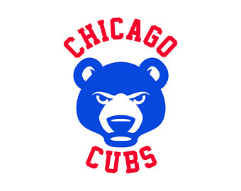 340x270 Chicago Cubs SVG Chicago team baseball team chicago cubs