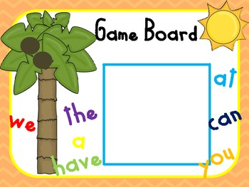 350x263 Chicka Chicka Boom Boom Sight Word Game By Kindergarten