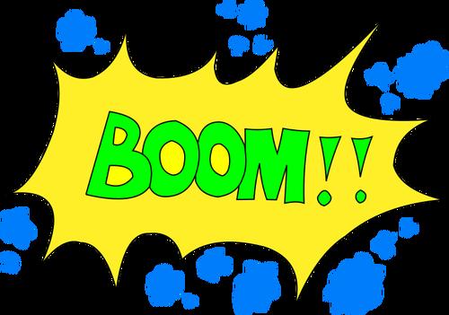 500x351 Boom'' Bubble Public Domain Vectors