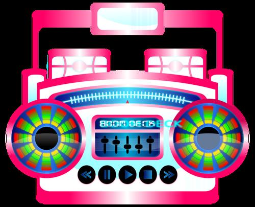 500x405 Boom Box Vector Graphics Public Domain Vectors