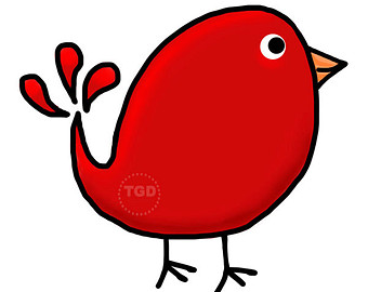 340x270 Chickadee Clip Art Chickadee Illustration Printable Pdf Jpg