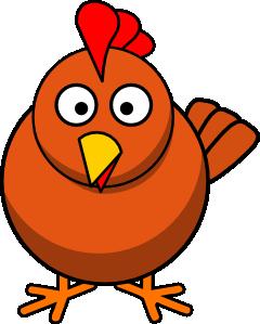 240x299 Chicken Cartoon Clip Art
