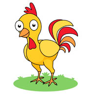 193x195 Chicken Clipart Yellow Chicken Free Collection Download