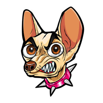 350x350 Image Of Chihuahua Clipart