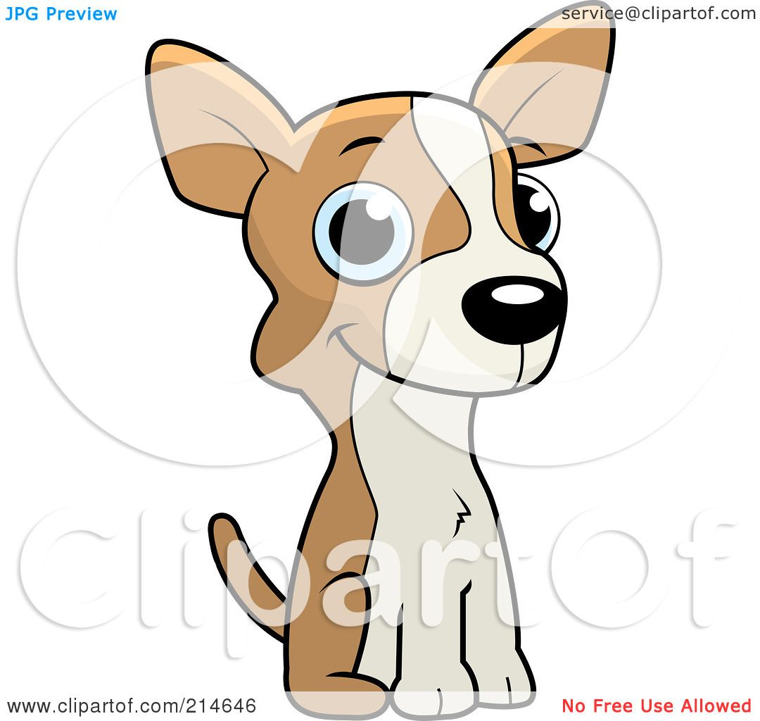1080x1024 Royalty Free (Rf) Clipart Illustration Of A Cute Little Chihuahua
