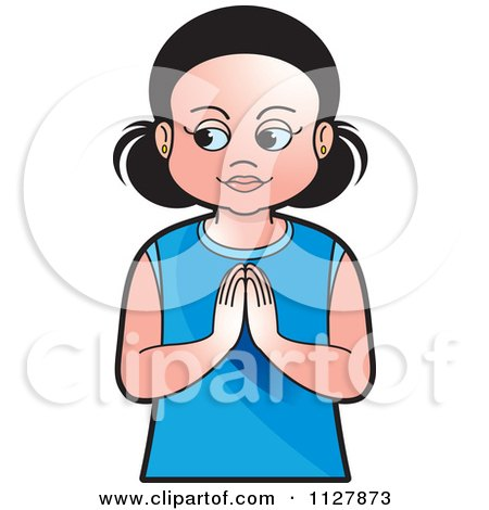 450x470 Clipart Of A Boy And Girl Praying