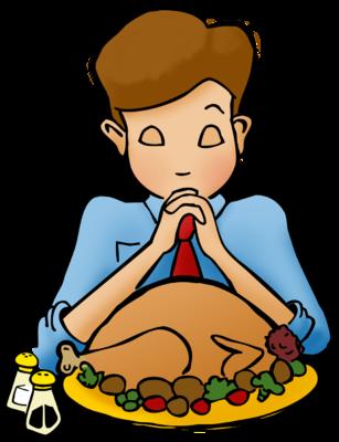 307x400 Image Praying On Thanksgiving Thanksgiving Clip Art