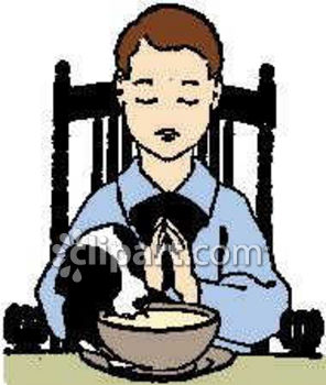 296x350 Child Praying Clip Art