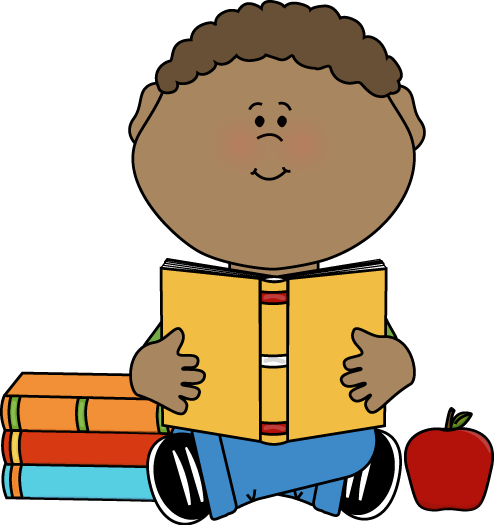494x525 Children Reading Clipart Clipart