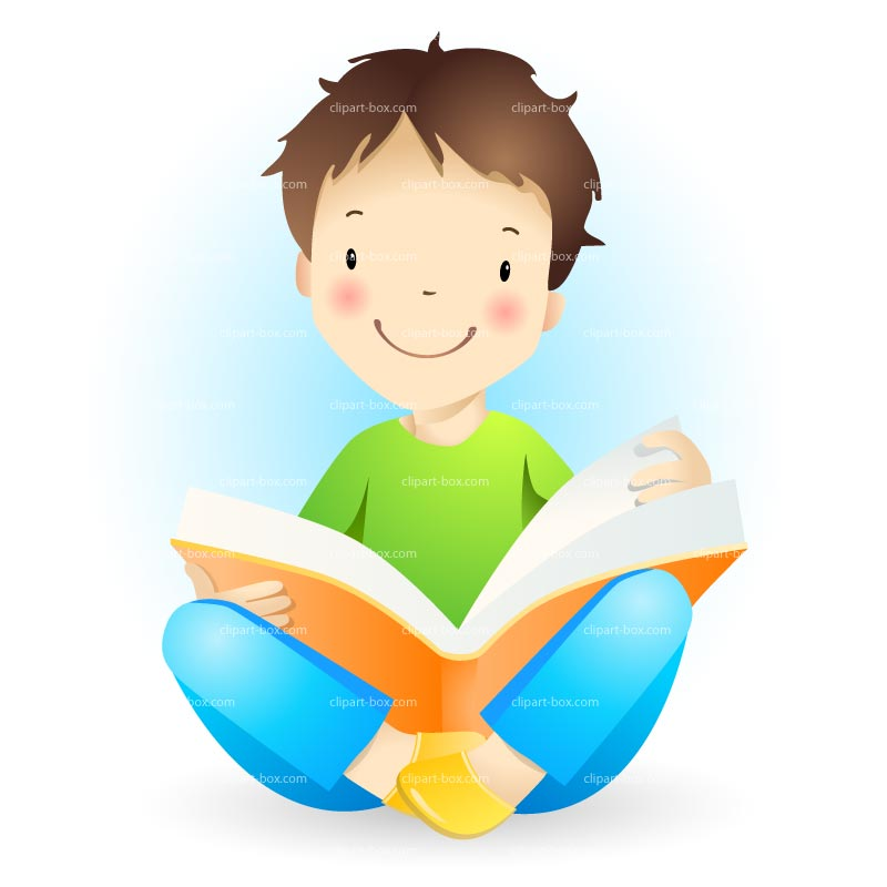 800x800 Boy Child Reading Clip Art Clipart Panda