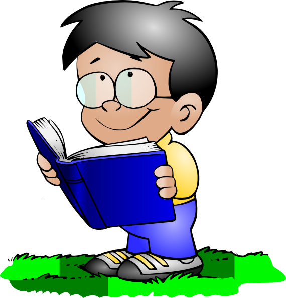 570x595 Child Reading Kids Reading Clipart Free Images