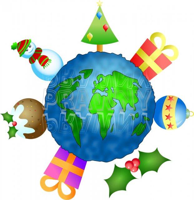 621x640 Christmas Around The World Clipart World Clipart