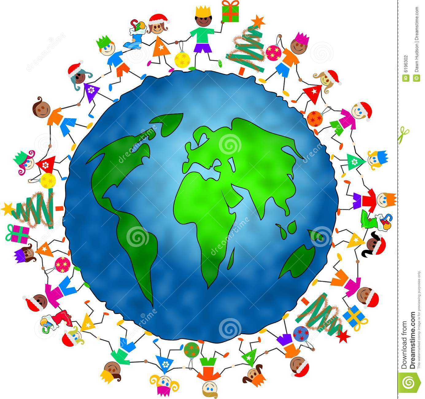 1385x1300 Christmas Around The World Clipart Forkids