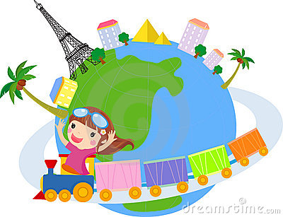 400x307 Excellent World Clipart Of Traveling Around The K6151704 Search
