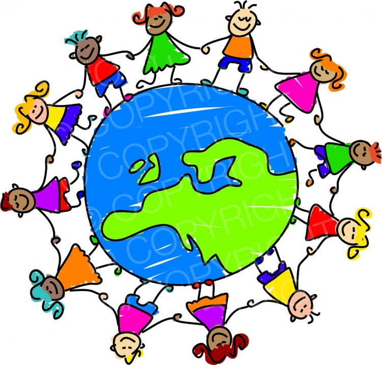 750x715 Collection Of Globe Clipart Children High Quality, Free