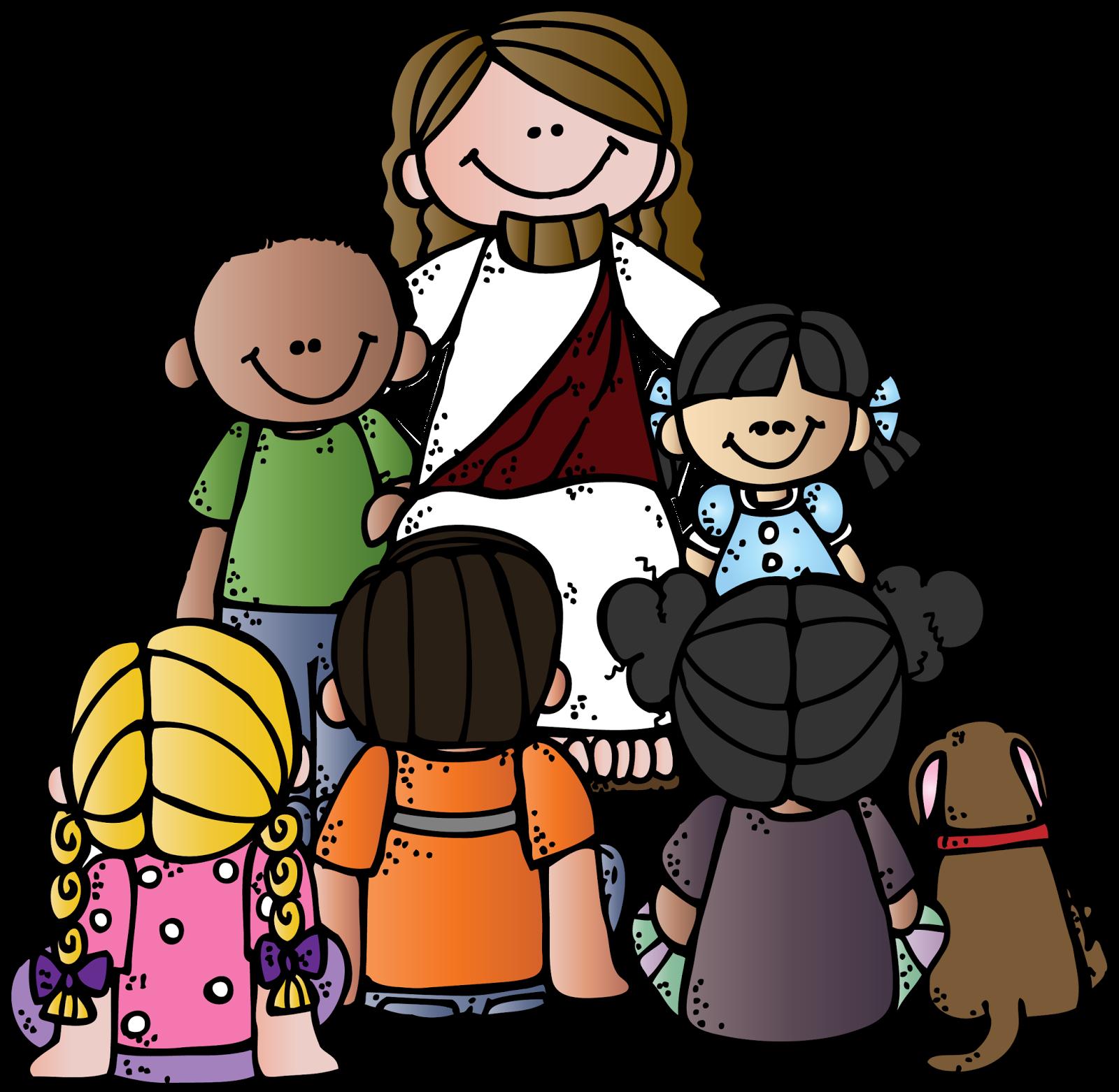 1600x1562 Jesus Children Clipart