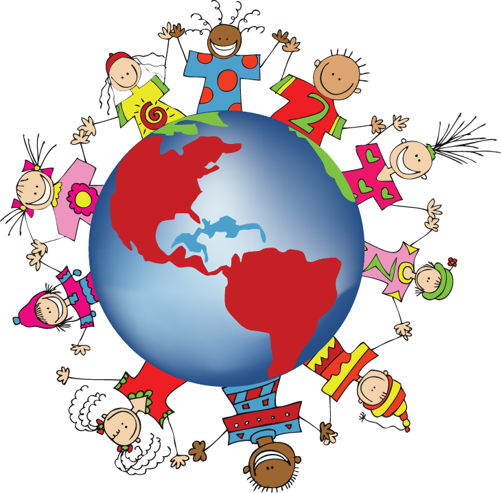 730x719 Pix For Gt Children Around The World Clipart One World