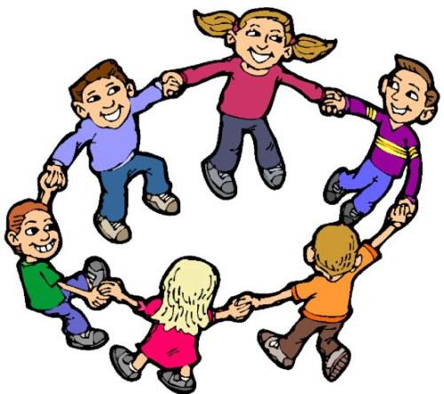 500x444 Image Of School Children Clipart